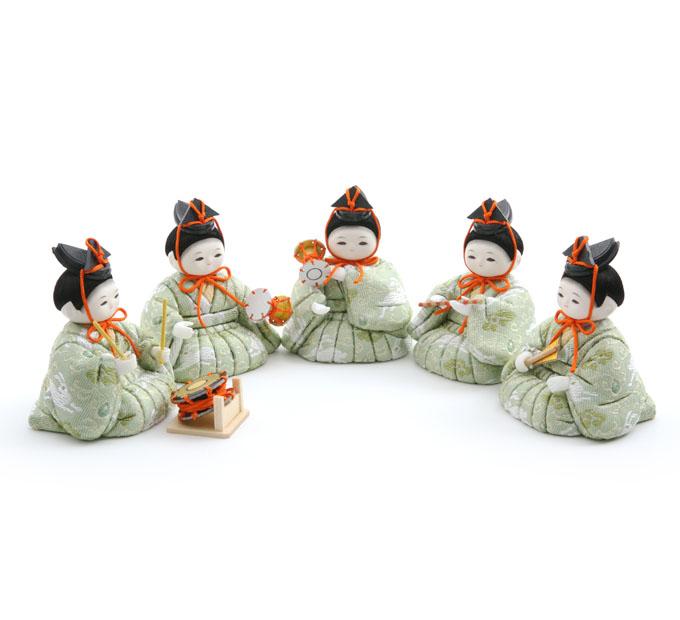 五人囃子 雪うさぎ