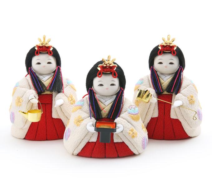 三人官女 京刺繍・小春まり