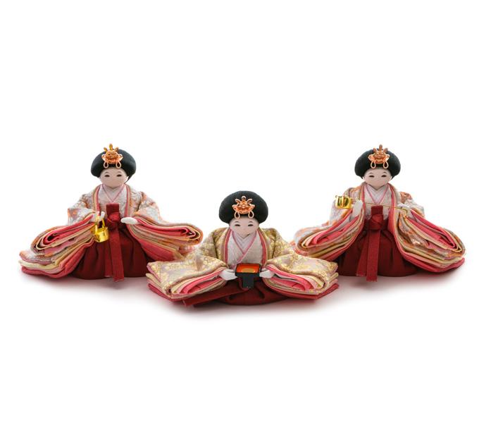 三人官女 衣装着・八重桜