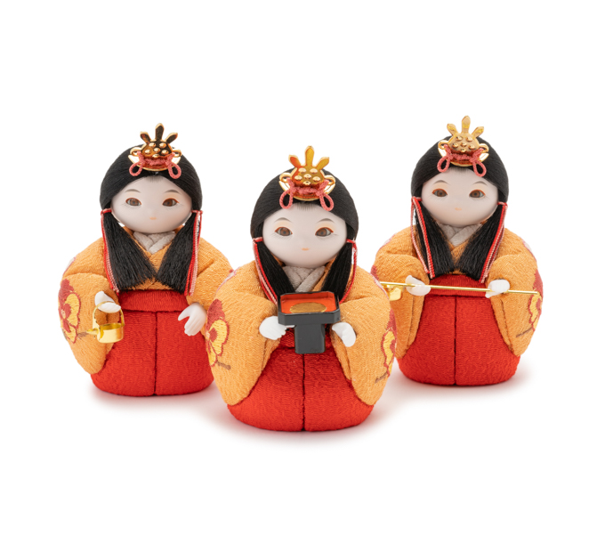 三人官女 花の苑・桜色